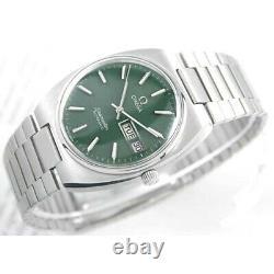 Vintage Omega Seamaster G Automatic G Deep Green 1020 Cal Custom Dial Mens Watch