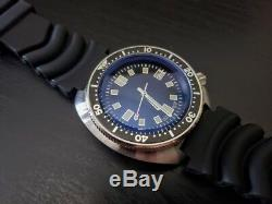 Vintage Sterile 6105 Japanese NH35A Automatic 20 atm Dive Diver Watch