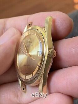 Vintage Universal Geneve Polerouter Date Automatic Swiss Micro Rotor Cal 218-2