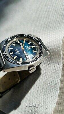 Vintage tissot visodate automatic seastar pr 516 all original watch running