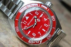 Vostok Komandirskie Automatic Russian wrist watch 650840