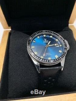 Yema Superman Lagoon Automatic YMHF1557A-GS11 Watch In House Movement 40mm