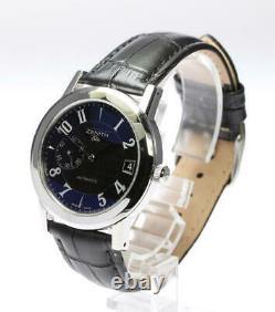 ZENITH Port Royal Elite 01/02.0451.680 Black Dial Automatic Men's Watch 541476