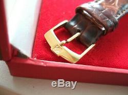 Zenith El Primero 20-0210.400 Automatic Chronograph WATCH +box Gold +Croc strap