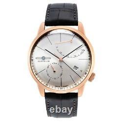 Zeppelin Men's 7368-4 Series Flatline Automatic Watch 7368-4 NEW