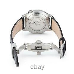 Zeppelin Men's LZ129 Flatline Power Reserve Automatic Watch 7366-4 NEW